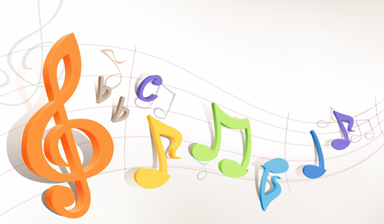 音乐海报矢量素材可以自己编辑文字